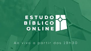 Estudo Bíblico (22/10/2020)