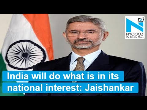 India will do what is in its national interest: Jaishankar on S-400 deal