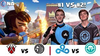 CRL Norteamerica:  Tribe Gaming v. TSM | Cloud9 v. Immortals