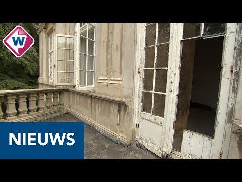 Krakers doen wat eigenaar Huize Ivicke niet doet: het pand behoeden voor verval - OMROEP WEST