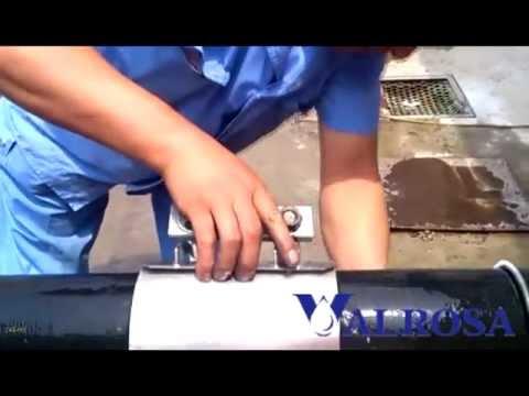 ВАЛРОСА - ремонтные хомуты IDRACON для устранения течи трубопроводов