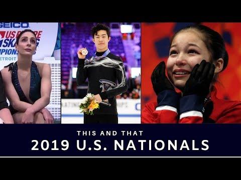 This And That: 2019 U.S. Figure Skating Championships (Nathan Chen, Alysa Liu, Jason Brown)