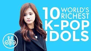 RICHEST K-POP IDOLS 2019   TOP 10