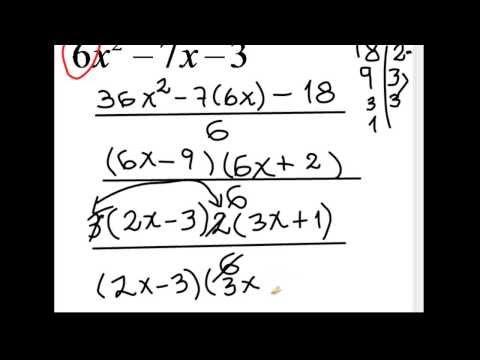 TRINOMIO FORMA AX2+ BX+ C