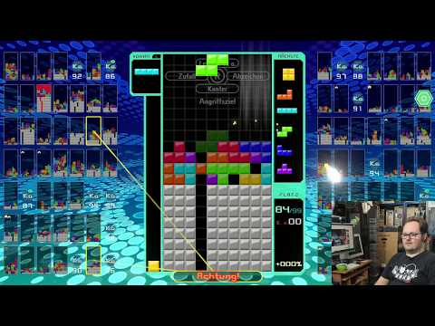 Cracky vs. Tetris 99 (Switch) (Battle Royale)