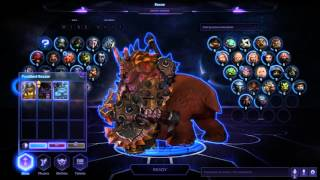 Heroes of the Storm skins in play mode