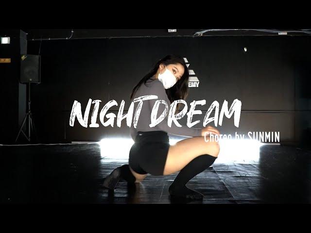[잠실새내 댄스학원] 걸스코레오그래피CHOREOGRAPHY 취미추천 I 이바다 - 야몽음인(Night Dream)(DEMO ver)