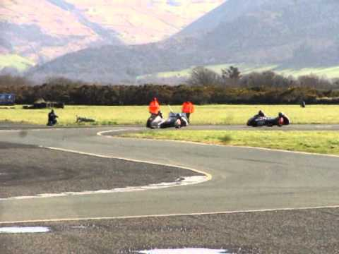 2014 Andreas Racing Association - Jurby Airfield Meeting - Isle of Man 23nd March 2014