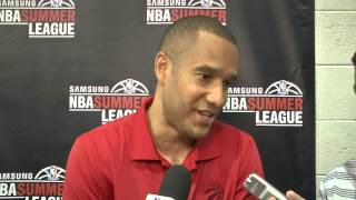 Raptors Post-Game: Jama Mahlalela - July 12, 2015