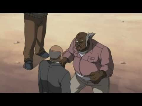 Uncle Ruckus meets Martin Luther King