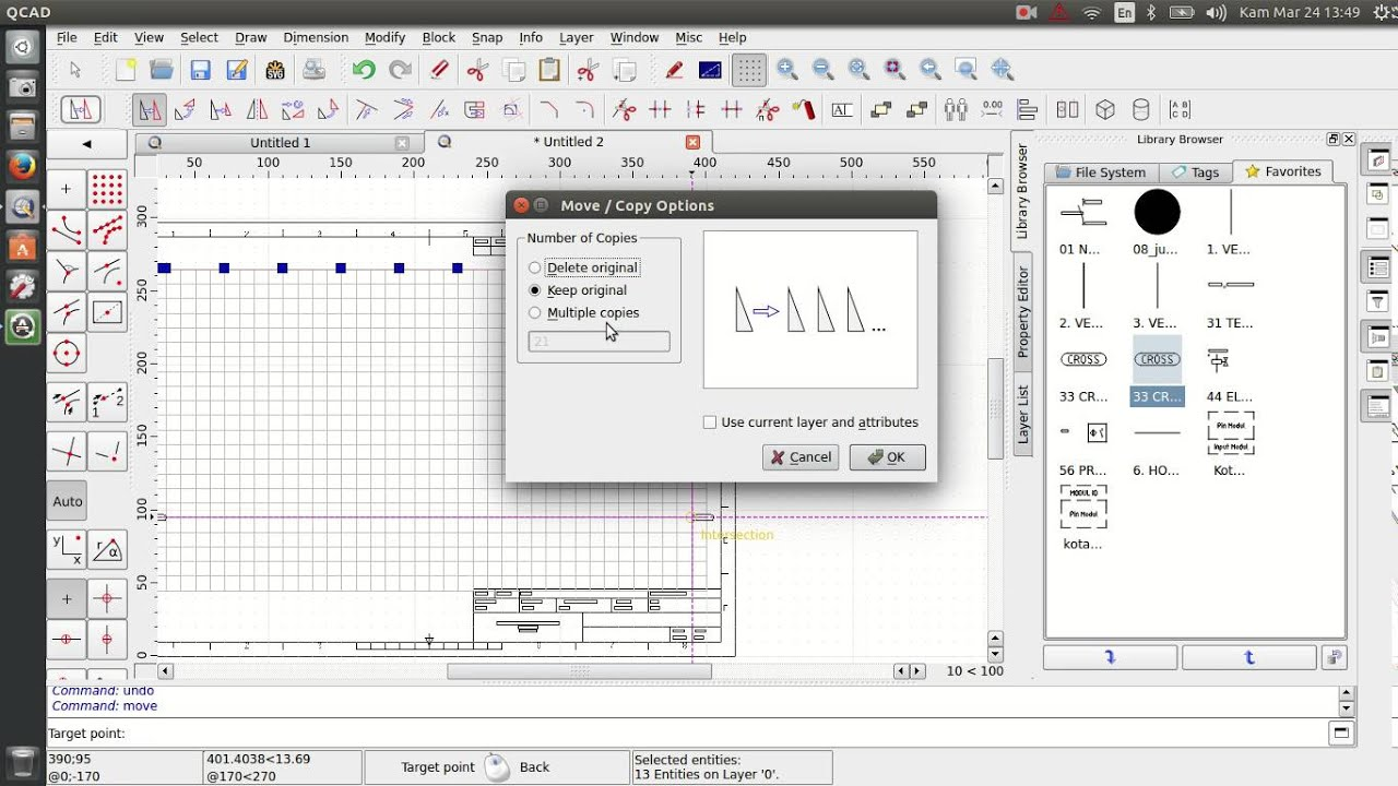 Wiring       Diagram    tutorial with QCAD  no sound   YouTube