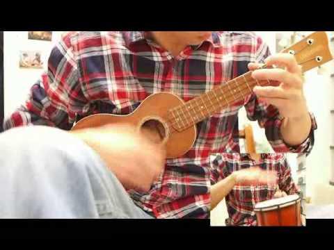 Ray0823] Kantoi (Ukulele with Djembe) - YouTube