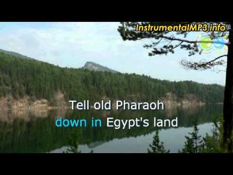 Louis Armstrong - Go Down Moses (karaoke)