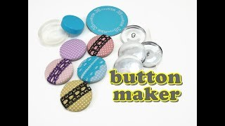 Covered Button Maker Tool - HOW TO