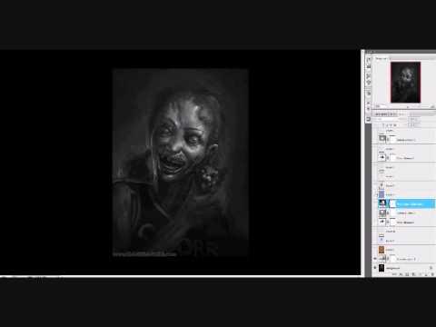 Grayscale to Color tutorial - wwwDaveRapoza - YouTube