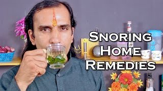 Snoring Treatment With Natural Home Remedies @ ekunji.com