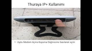 Thuraya IP+ Uydu Modem Kullanımı