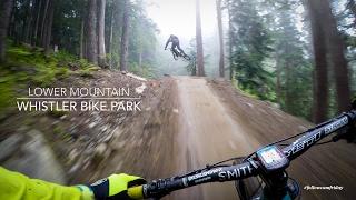Mountain Biking the lower Whistler Bike Park thumbnail