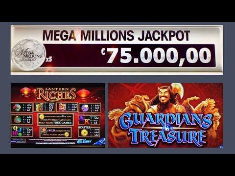 3x Bonus - MEGA MILLIONS JACKPOT - LANTERN RICHES - GUARDIANS TREASURE - Slot Machine