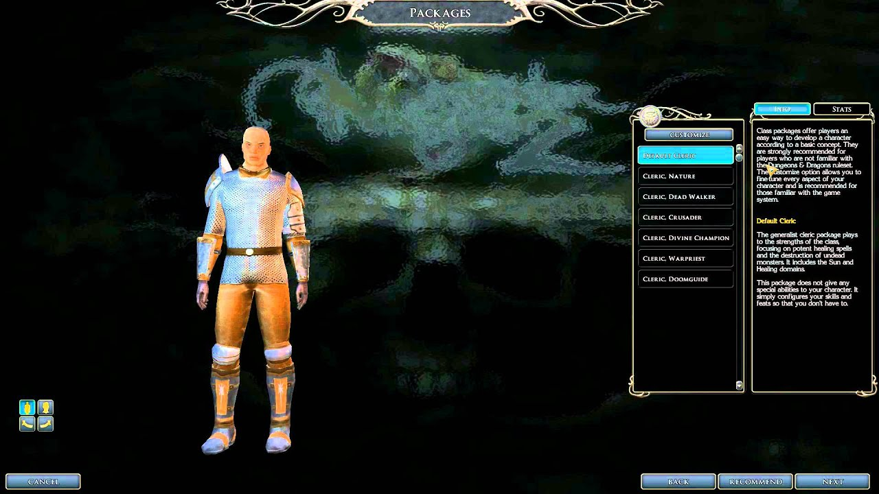 Playing Evil In Nwn2 Oc Hd An Evil Cleric From West Harbor Youtube
