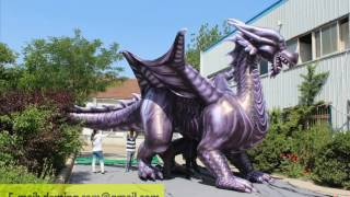 32ft length inflatable dargon mascots