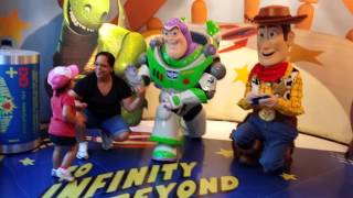 Meeting Woody & Buzz