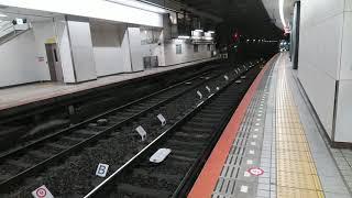 大阪難波 特急しまかぜ回送 入線