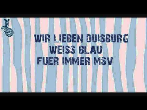 Die Fangesänge des MSV Duisburg (LIVE Stadion Aufnahmen) - 10/11 - Aufwärmen für Berlin!