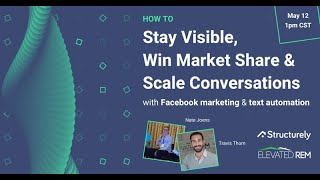 Stay Visible, Win Market Share & Scale Conversions Webinar