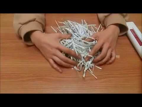 ASMR - Shredding papers (no talking/ paper sound/ crinkling sound)