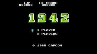 Nintendo Entertainment System 1942 Japan, USA
