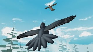 ROBLOX: MY MOTHER AND I TURN BIRDS ET WE BET RACE IN THE SKY!!! (Simulateur d'oiseaux)