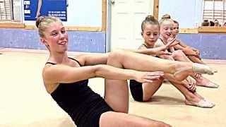 Rhythmic Gymnastics core strength exercises: Okanagan