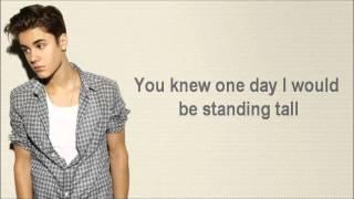 Justin Bieber - Believe (Lyrics on Screen and in description)