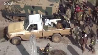 Racodaki teröristler havadan ve karadan böyle vuruldu