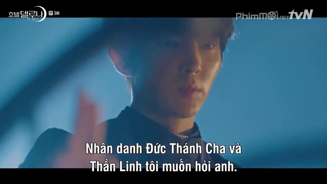 [Hotel Del Luna - ep.3] IU (Jang Man Wol) và Lee Joon Gi gặp lại nhau trong Khách Sạn Ánh Trăng.