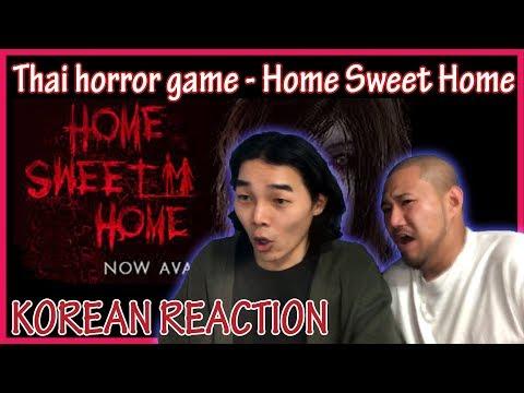 Korean try to Thai horror game [ Home sweet home ] (Eng sub)