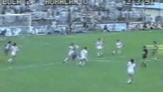 1er. Gol de Batistuta a Huracán (Boca 2-Huracán 0 03-03-91)