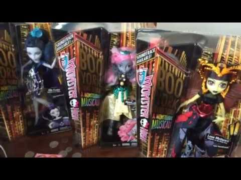 Monster High BOO YORK BOO YORK DOLLS found! Mousceses King, Elle Edee, Luna Mothews,