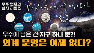 [우주먼지] 새로운 수학 모델의 충격적인 결과! 외계문…
