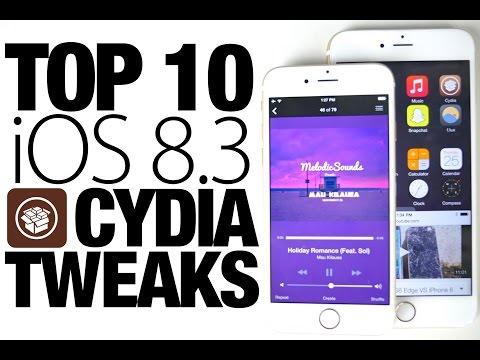 Top 10 iOS 8.3 Cydia Tweaks - Best Taig 8.3 Jailbreak Compatible