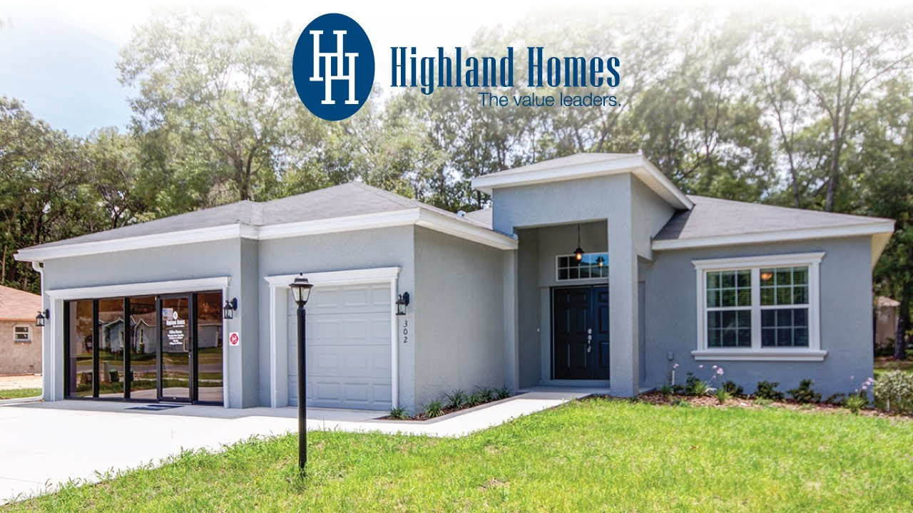 Westin home plan by highland homes florida new homes for for Florida house plans for sale