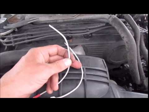 2008 Jeep Wrangler Engine Wiring Harness Knock Sensor Bypass Youtube