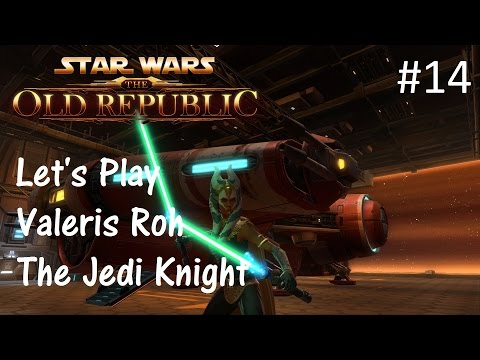 Let's Play SWTOR: Jedi Knight Part 14 [Into The Senate Tower]