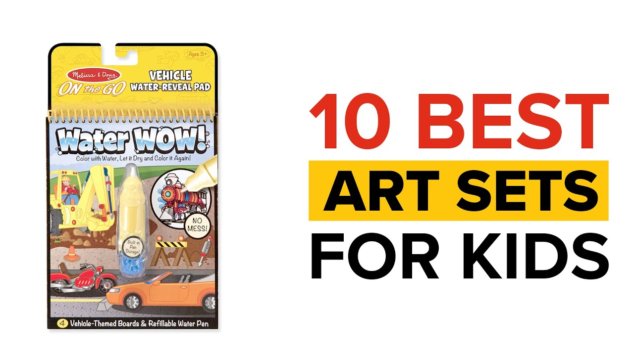 10 Best Art Sets for Kids in India with Price