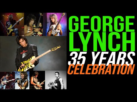 George Lynch 35 Years - REDUX - One Year On!!! Guitar Guru TV