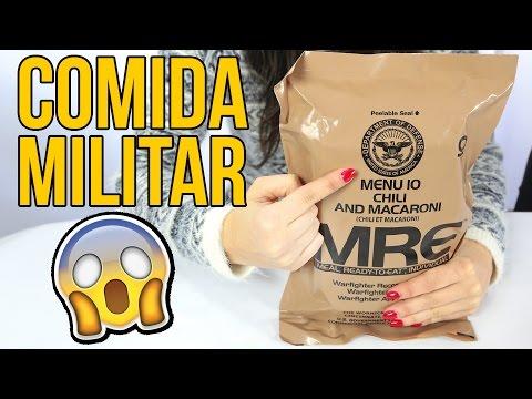 Tasting US MILITARY SURVIVAL food