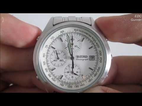 tunnetut tuotemerkit puoleen hintaan ostaa halpaa How To Calibrate (reset) Chronograph Watch