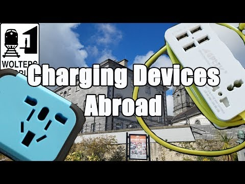 How to Charge Your Electronic Devices When You Travel
