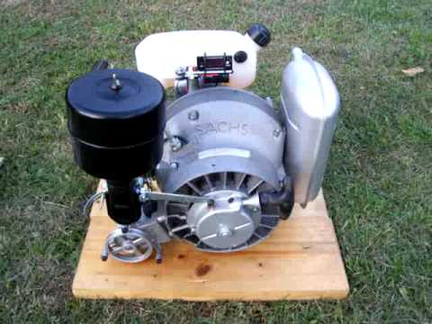 Sachs Wankel rotary engine KM 48 part1